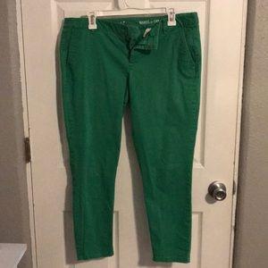 Gap Khaki Pants - Green